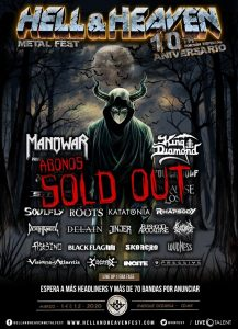 Hell & Heaven Metal Fest @ Deportivo Oceanía
