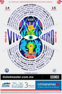 Vive Latino 2020 @ Foro Sol